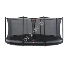 Батут Berg Grand Favorit InGround 520 Grey Safety Net Comfort купити в інтернет магазині Berg