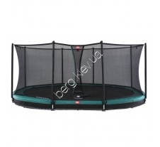 Батут Berg Grand Favorit InGround 520 Green Safety Net Comfort купити в інтернет магазині Berg